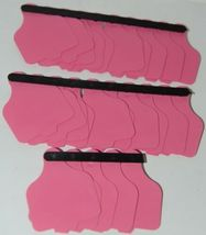 Destron Fearing DuFlex Visual Id Panel Tags Livestock Large Pink 25 Set Blank image 5