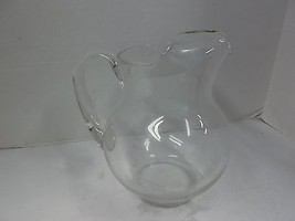 8in tall Glass Pitcher - $6.53