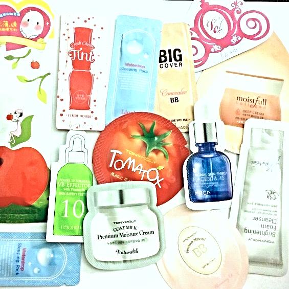 Mixed Korean Cosmetic 20 Pcs Samples Etude House Tony Moly Missha + Free Gifts - $20.00