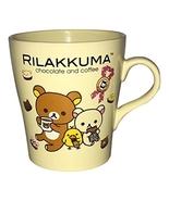 Sanrio Rilakkuma San-X 2013 Yellow Chocolate and Coffee Mug Cup - $44.99