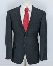 Joseph Abboud Men's Slim Fit Sport Coat Blazer Windowpane Suit Jacket Si... - $38.95