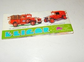OLDER ELICOR  1/43 SCALE MINIATURE MODEL CAR CATALOG- USED-H16 - $3.91