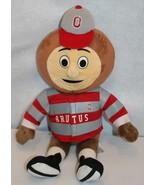 "Build-A-Bear Workshop 18"" BRUTUS BUCKEYE OH STATE MASCOT Stuffed Plush R... - $99.95"