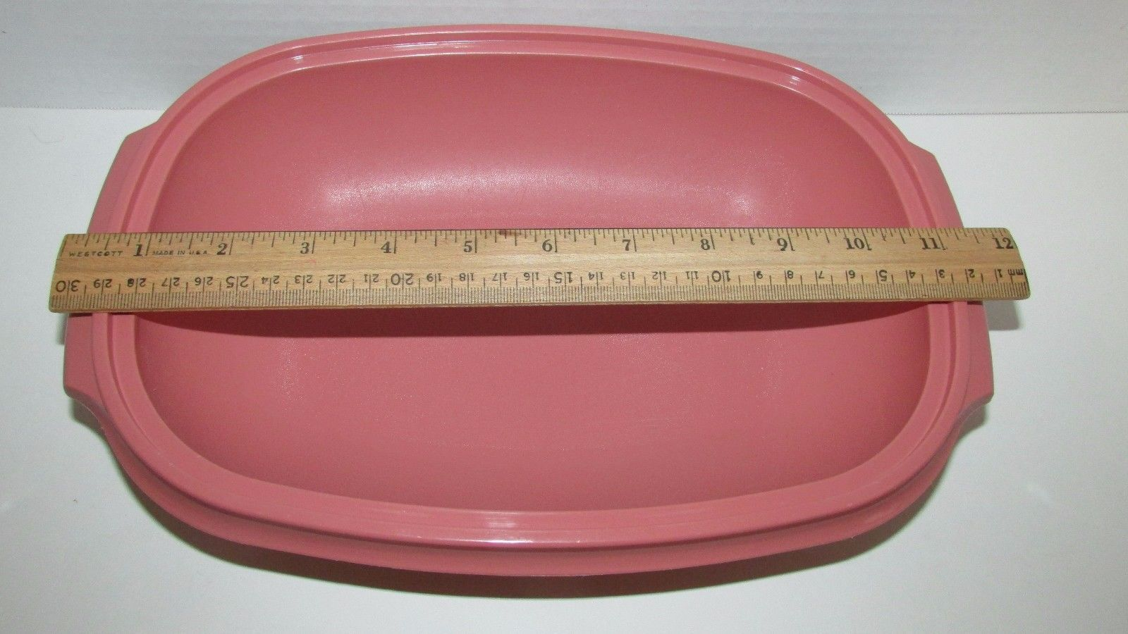 Tupperware Pink Dusty Rose Mauve 6 C And 50 Similar Items New Fancy Crystalwave Lunch Set