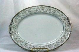 "Noritake 1964 Oxford #5767 13 3/4"" Oval Platter - $20.78"