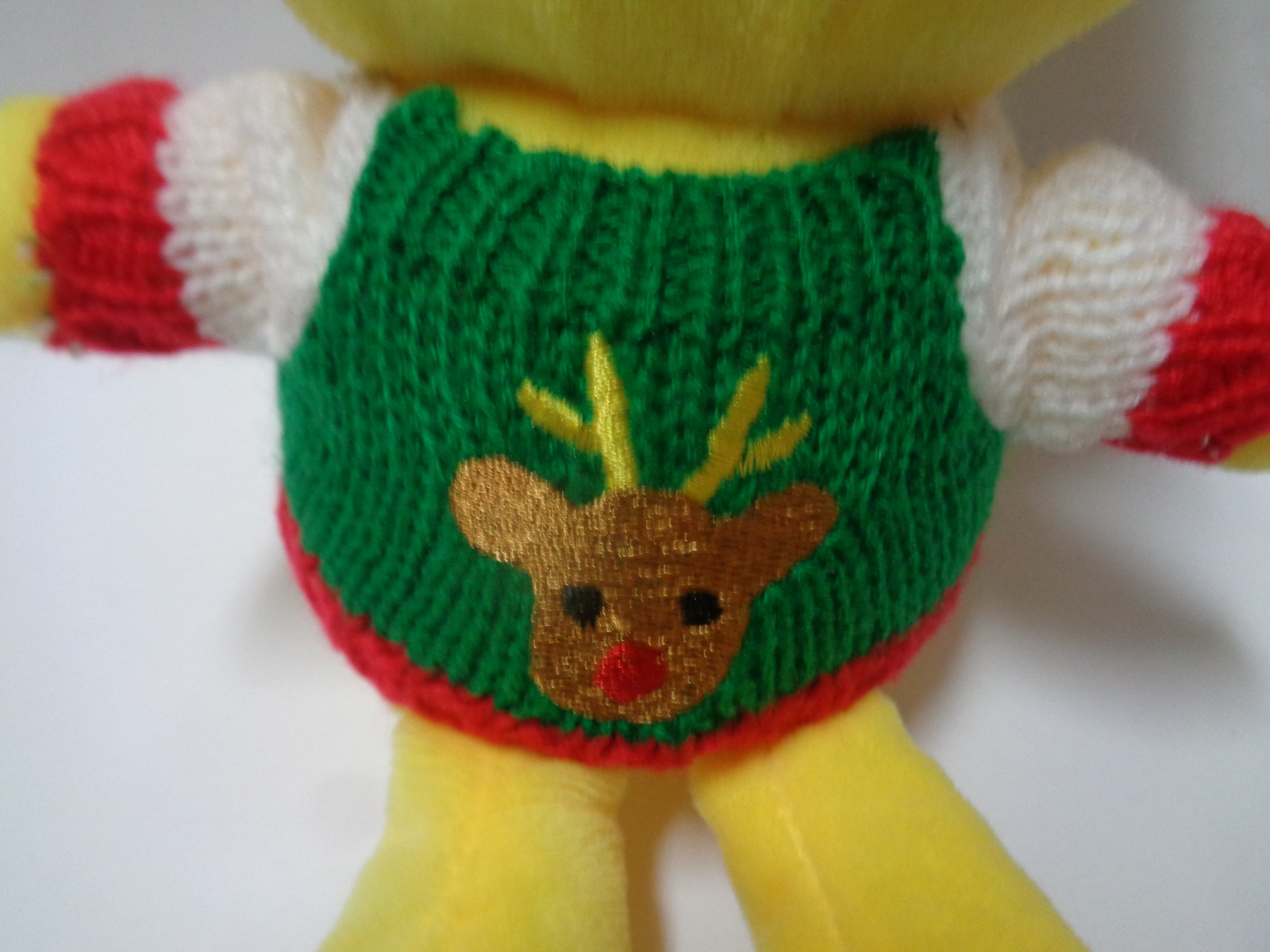 Emojeez Smiley Face Ugly Sweater Plush Doll NWT Holidazed Pals Special Edition