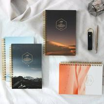 Arte Natural Spring Diary Journal Undated Planner Scheduler Notebook Org... - $21.99