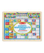 Melissa and Doug Magnetic Responsibility Chart Educational Preschool Toy... - $16.82
