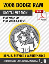 2008 Dodge Ram Truck 1500 2500 3500 4500 5500 DX Diesel Factory Repair S... - $9.90