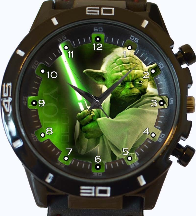 Master Yoda New Gt Series Sports Unisex Gift Watch