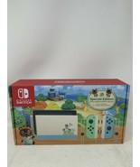 Nintendo Switch Animal Crossing New Horizons Edition 32GB Console (BRAND... - $367.64