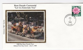 ROSE PARADE CENTENNIAL PASADENA CA JULY 4 1988 COLORANO SILK  - $1.98