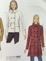 Vogue Sewing Pattern 9157 Misses Coat Size 14-22 New - $18.47