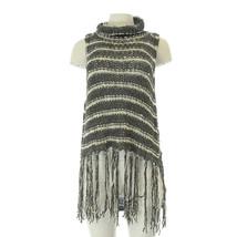 Free People Knit Coverup Tassels Top S PE - $45.82