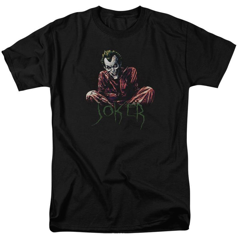 S joker harley quinn  graphic tee green lantern green arrown red tornado aqua man bm2585 at 800x