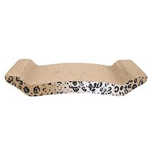 CZJ Tech Corrugated Paper Grinding Claw Plate with Catnip Leopard Print ... - $14.45