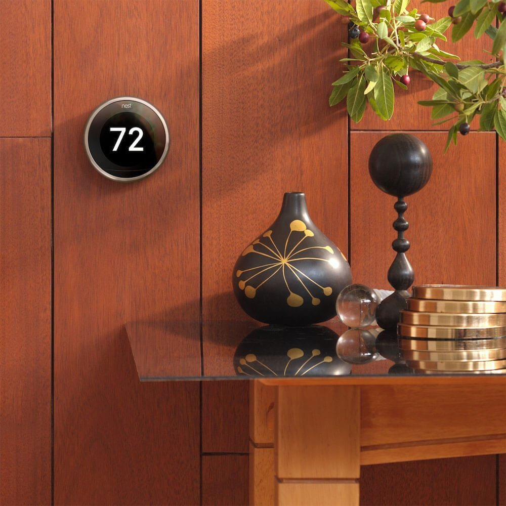 Nest  t3007es  learning thermostat  easy temperature control