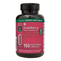 Member's Mark Clinical Strength 500mg Cranberry Supplement (150 Count) (... - $43.76