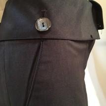 Sharagano Charcoal Gray fold waist pants 10 NEW - $49.95