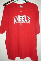 Nike Men's Los Angeles Angels Legend 100% Cotton T-Shirt Size X-Large Pr... - $7.54