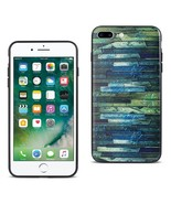 Reiko Iphone 7 Plus Embossed Wood Pattern Design Tpu Case With Multi-letter - $8.10