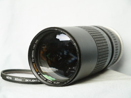 Minolta MD  Fit Hoya 75-260MM Zoom Macro Lens  -Ideal Conversion Lens- X700 X300 - $25.00