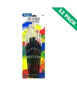 Paint Brush Set, 9 Pack Of Assorted Acrylic Paint Set Brushes (12 Unit C... - $54.79