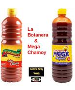 2x Mexican Hot Sauce La Botanera & Mega Chamoy 2-L bottle  - $26.90