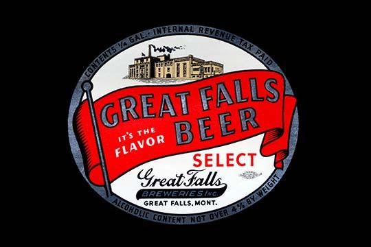 Great Falls Beer - Art Print - $19.99 - $179.99