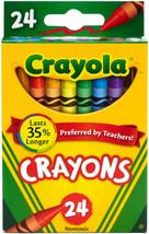 Crayola Crayons-24/Pkg - $9.33