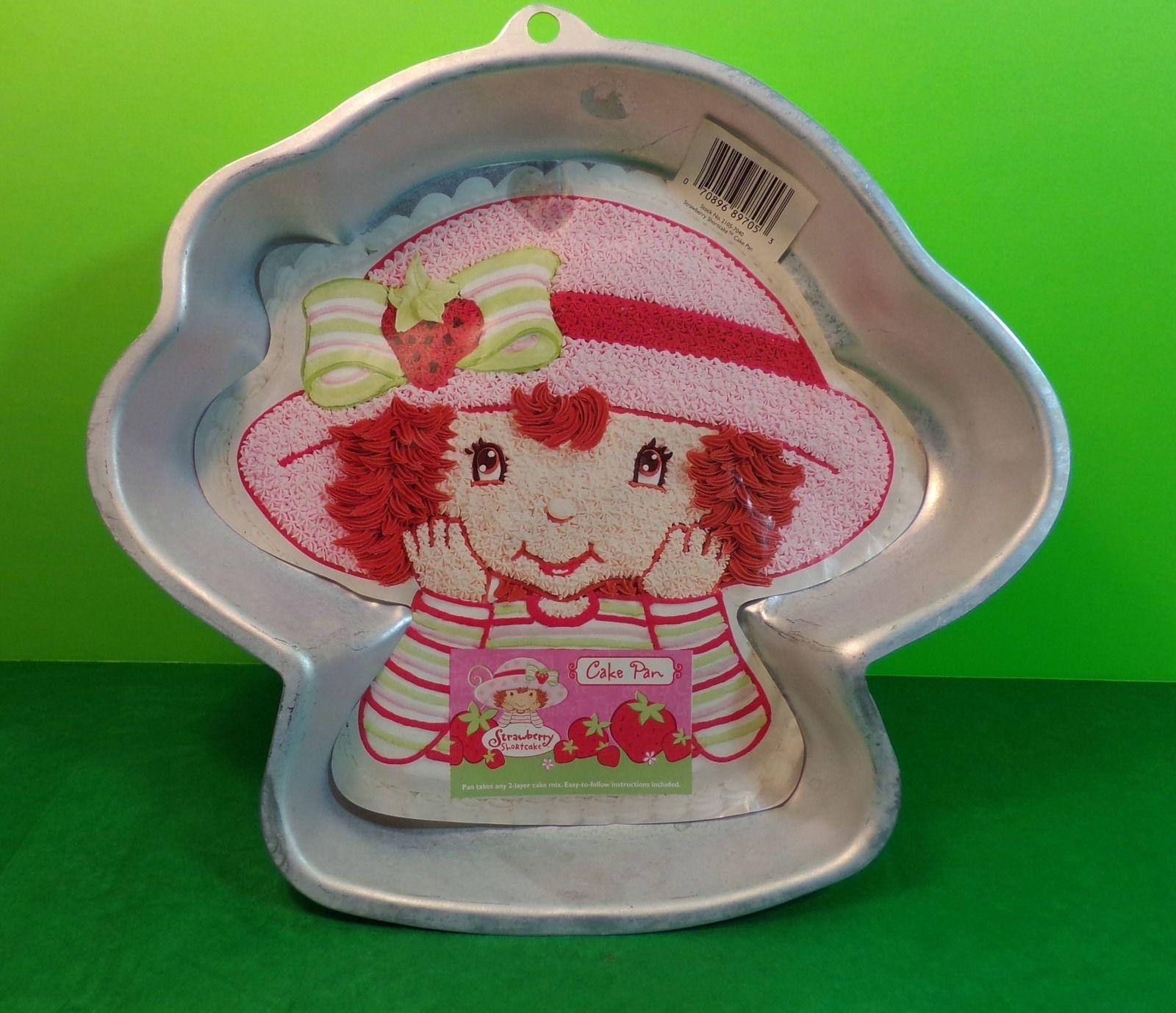 2003 Wilton Strawberry Shortcake Character Cake Pan With Insert Birthday - $7.70