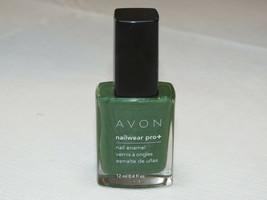Avon NailWear Pro+ nail Enamel Garden Gr 12 ml 0.4 fl oz nail polish mani pedi - $10.70