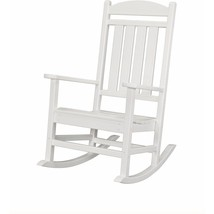 Hanover Patio Porch Rocker Lounge Chair Armrest All-Weather Seat Plastic... - $324.85