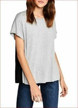 new BCBGeneration women shirt top blouse ONN16A18-016 092018 grey black XXS - $25.25