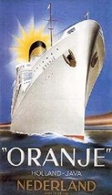 """MS Oranje"" Wartime Hospital Ship - $5.99"