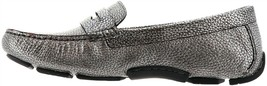 Naturalizer Natasha Leather Driving Moccasin SILVER 9W NEW 680-978 - $105.91