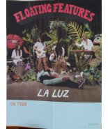 """La Luz On Tour """"Floating Features""""  21 x 21 Promo Poster, new - $14.95"""