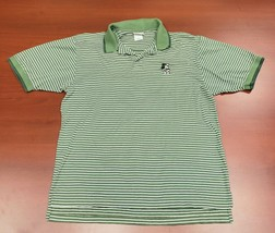Walt Disney World Mens Size L Short Sleeve Polo Shirt Mickey Mouse Embroidered - $26.07
