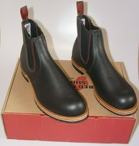 """*NEW* RED WING HERITAGE 2918 Chelsea Rancher Leather 6"""" Boots Size 13D US - $272.24"""