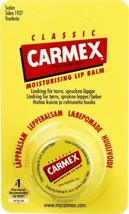 Carmex Classic lip balm 7.5g ( 2 Pack ) Antiseptic,Dry Skin & Cracked Lips - $15.83