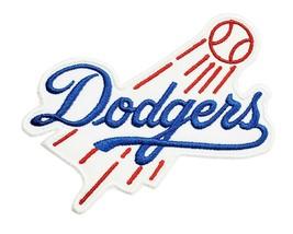 Los Angeles Dodgers World Series MLB Baseball Iron On Patch Tommy Lasorda - $4.88