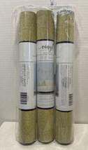 "American Crafts POW 12"" x 48"" x 3 Rolls Adhesive Vinyl Sheet Glitter Gold - $23.71"