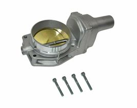 92 MM 4 BOLT THROTTLE BODY LS ENGINE DRIVE BY WIRE Compatible W/ CHEVY GM SILVER image 3