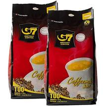Trung Nguyen - G7 3 In 1 Instant Coffee - 100 Packets (2 Pack) | Roasted... - $107.90