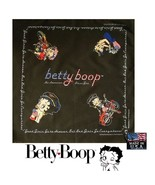 ALL AMERICAN BETTY BOOP GOOD-BAD BIKER GIRL Bandana BANDANNA Scarf Head ... - $12.12