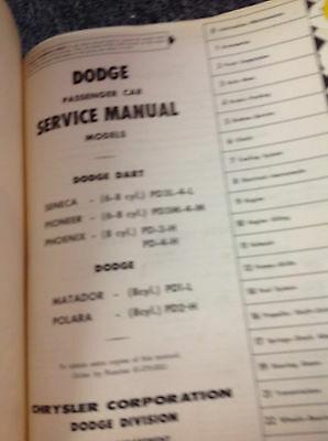 1960 Dodge Passenger Car Service Shop Repair Workshop Manual FEO Factory image 2