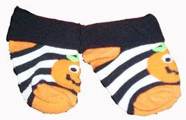 Babys Halloween Pumpkin Bootie Socks - $3.00