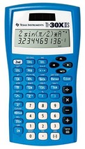 Texas Instruments Fundamental, Two-Line Scientific Calculator, Blue 30XI... - $17.28