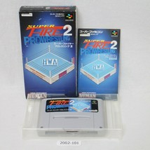Nintendo Snes Super Fire pro Wrestling 2 Scatola Funzionante Sfc Giochi ... - $12.01