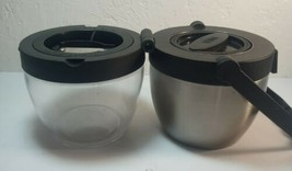 Thermos Dual Compartment Food Jar, Black - $9.79